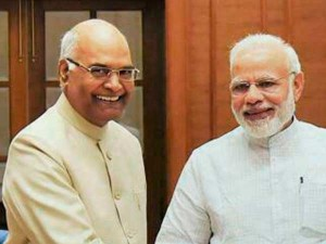 Next President India Kovind File Nomination Presence Modi
