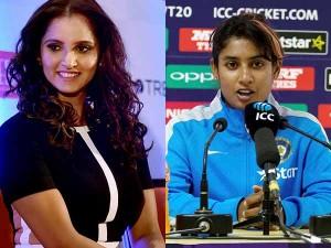 Icc Women S Wc 2017 Sania Mirza Applauds Mithali Raj Her Reply To Journalist