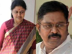 Sasikala Slams Ttv Dinakaran While He Met Her Bengaluru Jail