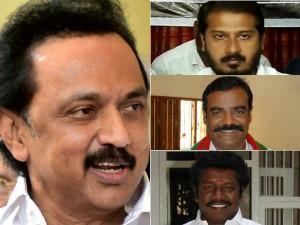 Admk Supporting Mlas Met Opposition Leader Stalin Today At Secretariat