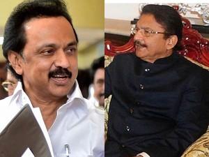 M K Stalin Meets Governor C Vidyasagar Rao
