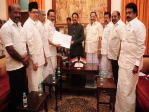 M K Stalin Submits Cd Proves Governor Seeking Dismissal Tn Government