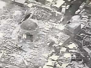 The Great Mosque Al Nuri Was Destroyed Isis Iraq Accuses