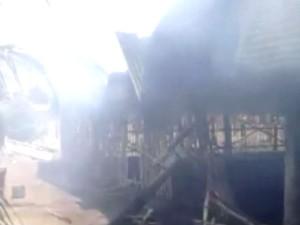 Fire Accident Tiruppur Idummpanpalayam Dying Unit