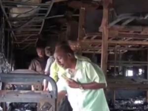 Viluppuram Train Met With Fire Accident Reason Not Yet Found