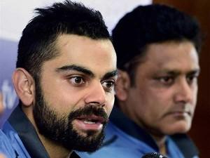 Virat Kohli Deletes Anil Kumble Welcome Tweet Faces Fan S Ire