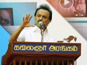Stalin Slams Atp Tournament Shift Chennai Pune