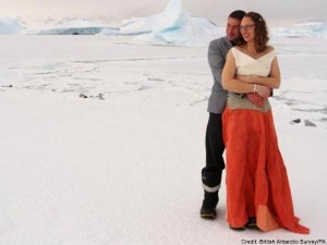 A Marriage At Antarctic Territory