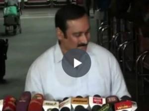 Anbumani Ramdoss Slams Tamilnadu Government Neet Issue