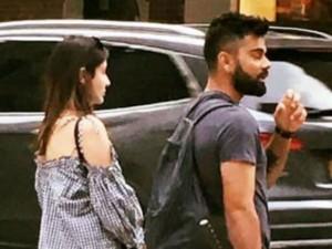 Virat Kohli Holidays With Anushka Sharma New York