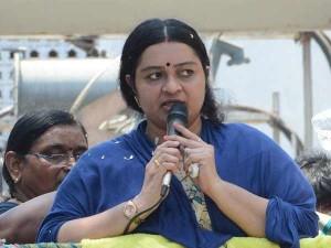 J Deepa Supports Salem Student Valarmathi
