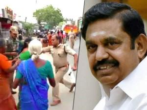 Chief Minister Edappadi Palanisamy Said That Women Were Attacked Police Samalapuram
