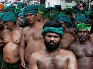 Tamil Farmers Protest Continues Delhi
