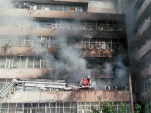 Huge Fire At Delhi S Lok Nayak Bhawan
