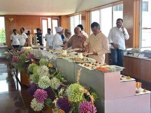Gujarat Congress Mlas Staying At Resort Bidadi