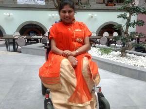 Jenitha Polio Attacked Girl Winning Chess Championship Herdwork