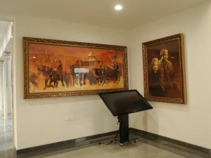 Ap Sridhar Honours Kalam With Paintings Ans Silicon Statues