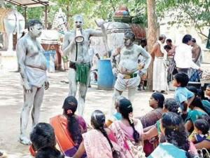 People Protest Kathiramangalam