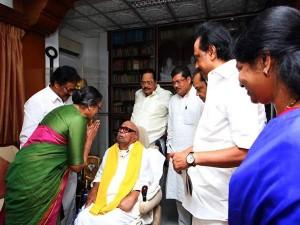 Meerakumar Meet Karunanidhi