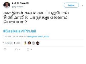 Memes On Sasikala S Rules Violation Prison