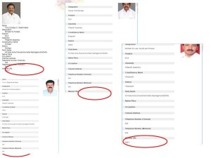 Ministers Email Ids Go Missing From Tn Govt Site