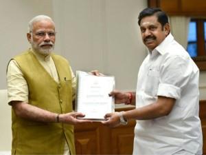 Edappadi Palanisamy Writes Letter Modi Seeks Fishermen Issu