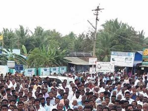 Neduvasal Protest Continues As 106th Day