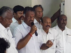Ops Accuses That Ministers Behaving On The Kamalhaasan Issue Were Irritated Public