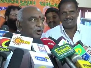 I Want Sometime Understand Kamal S Statement Says Pon Radhakrishnan