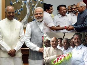 Pm Modi Wishes Ram Nath Kovind