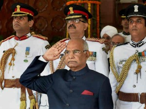 Ramnath Kovind Swearing As 14th President India Today