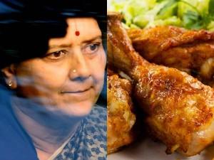 No Chicken Food Sasikala Bangalore Jail