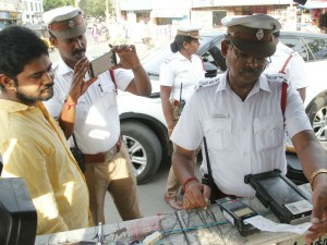 Now You Can Pay Fine Traffic Police Via Credit Card