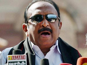 Gutka Corruption Documents Are Destroyed Vaiko