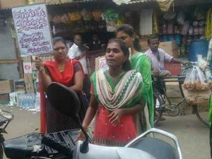 Gundas Imposed Against Student Valarmathi Protested Against Hydrocarbon Project