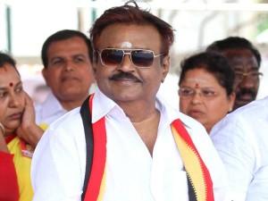 Vijayakanth Try Get Close Dmk