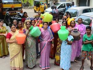 Watar Tankers Go On Strike Chennai