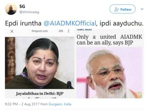 How Aiadmk Changed This One Year Time