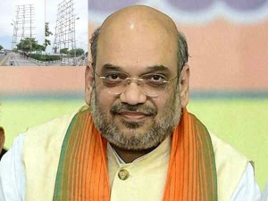 Bjp President Amit Shah Banners Removed From Merina Beach