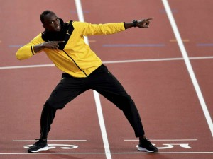 Ussain Bolt On His Return Field