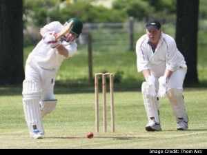 English Village Cricketer Slams 40 Runs Last Over