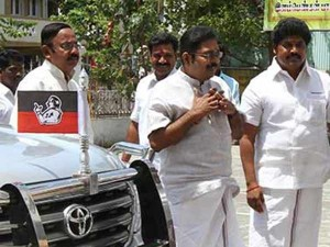 Security Beefed Up Admk Head Quaters