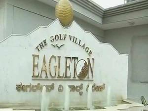 Few Days Back Karnataka Govt Issued Notice The Eagleton Resort