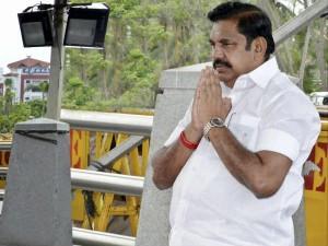 Tamilnadu Cm Palanisamy Vowed At Jaya Memorial 3 Times