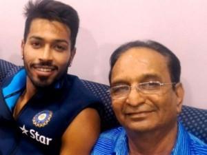 Cricketer Hardik Pandya Presents Surprise Gift His Father
