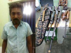 Illegal Gun Making Industry Puliyarai