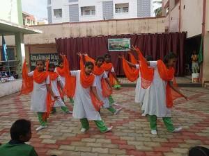 Independence Day Celebrates Karaikudi School