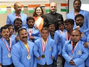 India Shines Dwarf Olympic