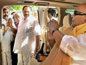 If Karunanidhi Is Active Politics Admk Govt Will Be Dissolved
