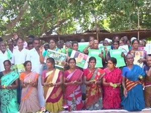 Neduvasal People Protest Against Hydrocarbon 123 Rd Day